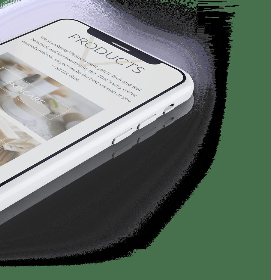 Alchemy mobile site