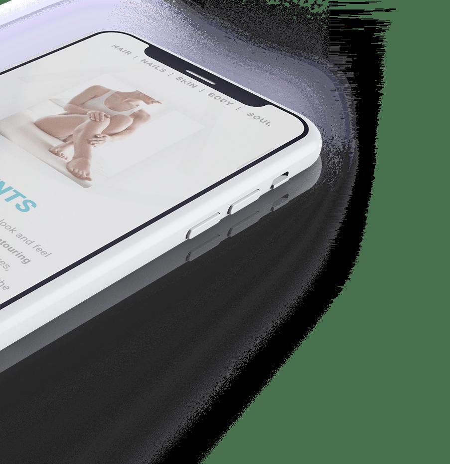 Allura mobile site