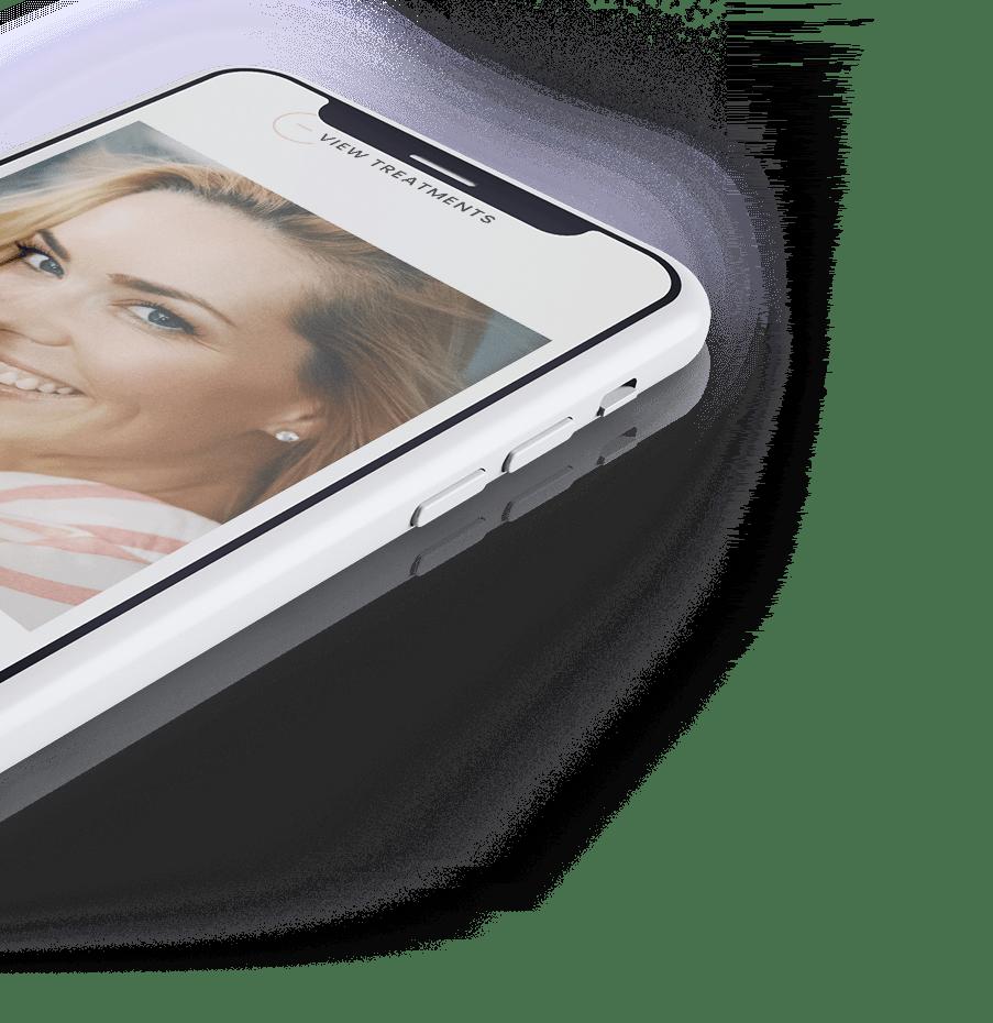Mobile website for Refresh Med Spa LA